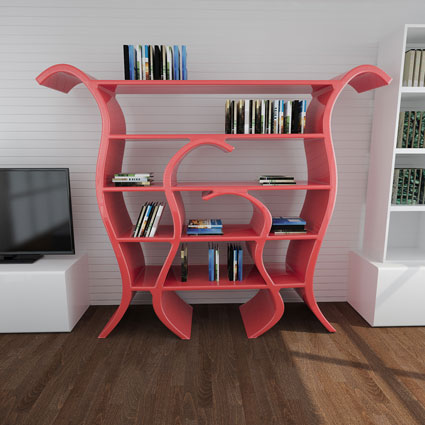 Libreria Design Tulip 3