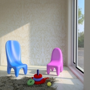 Sedia per bimbi in Adamantx® by Salvatore Privitera