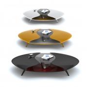 Tavolino Design ALIEN in Adamantx® by Sabino Ferrante