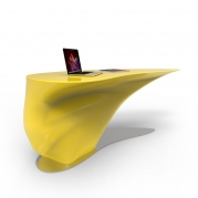 Scrivania ATKINSON, arredo design made in Italy by Zad Design