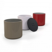 Pouf Button Zad Italy in Adamantx®