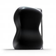 Lavabo in Adamantx® dalle forme fluide e sinuose. Design Sabino Ferrante per Zad Italy.