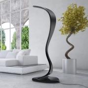 Lampada KOBRAH, scultura luminosa di Sabino Ferrante.