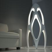 Lampada design Synapse Bianca Lucida