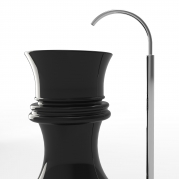 Lavandino Queen in Adamantx®, design by Pozzi Manuel per Zad Italy