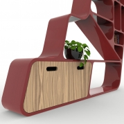 Libreria Design Ladder dettaglio