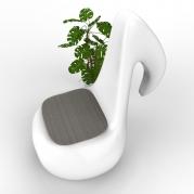 Poltrona Design CROMA