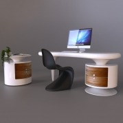 Scrivania design Bean