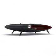 Tavolino Design ALIEN in Adamantx® by Sabino Ferrante