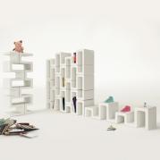 Libreria modulare componibile di Moreno Ratti per Zad Italy