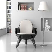 Poltroncina design in Adamantx® by Francesco Bazzica