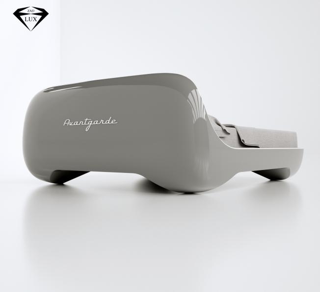 Letto futuristico realizzato in Adamantx®, by Edoardo Carlino