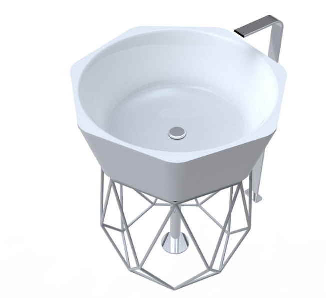 Lavabo design Diamond - Adamantx®