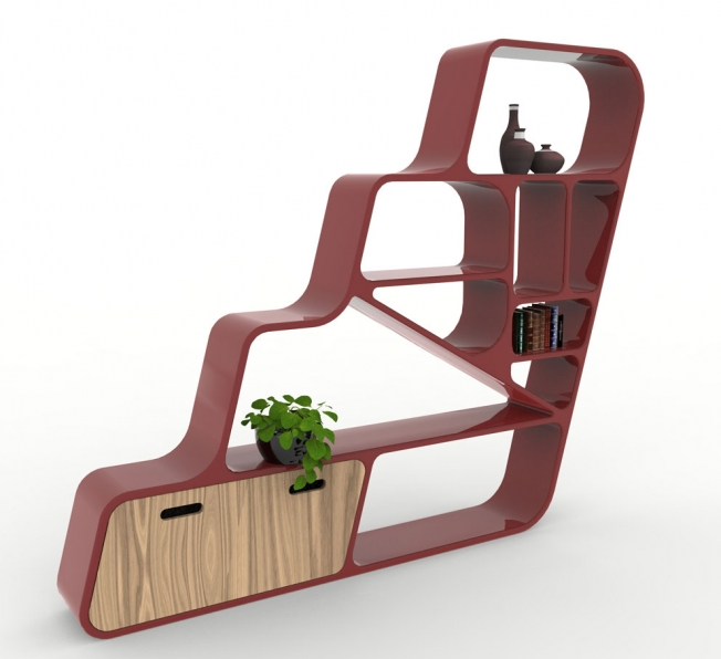 Libreria Design Ladder obliqua