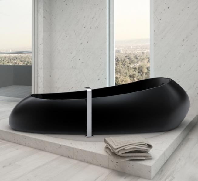 Vasca da bag no design, progettata in Adamantx® da Sabino Ferrante