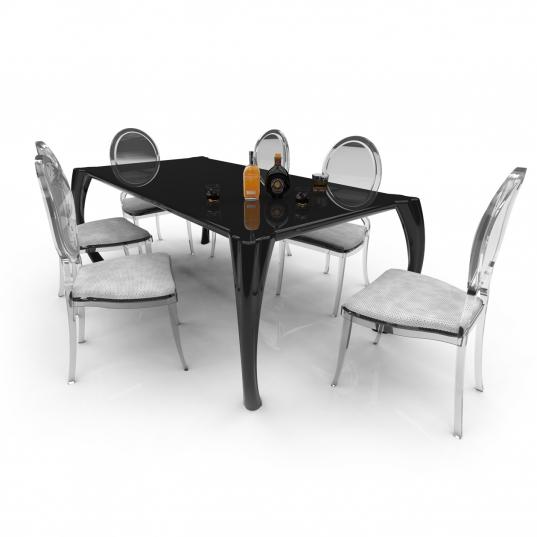 Tavolo Barocco in Adamantx® di Roberto Corazza Designer