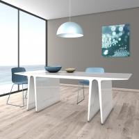 Tavolo monolitico in Adamantx®, by Settimelli Designer