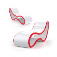 Chaise Longue di Design in Adamantx® by Pagliaro e Saiano