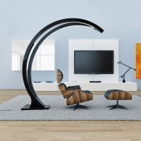 Lampada design Moon Lamp