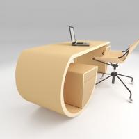 scrivania design Caracol di Noel Formica Designer